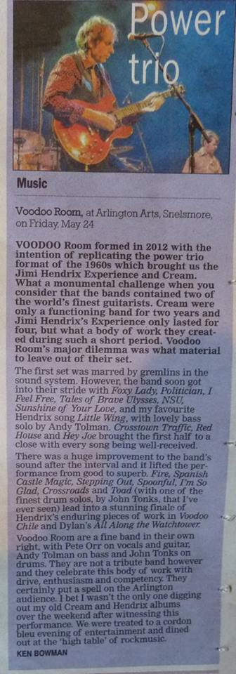 Voodoo Room Newbury Review copy